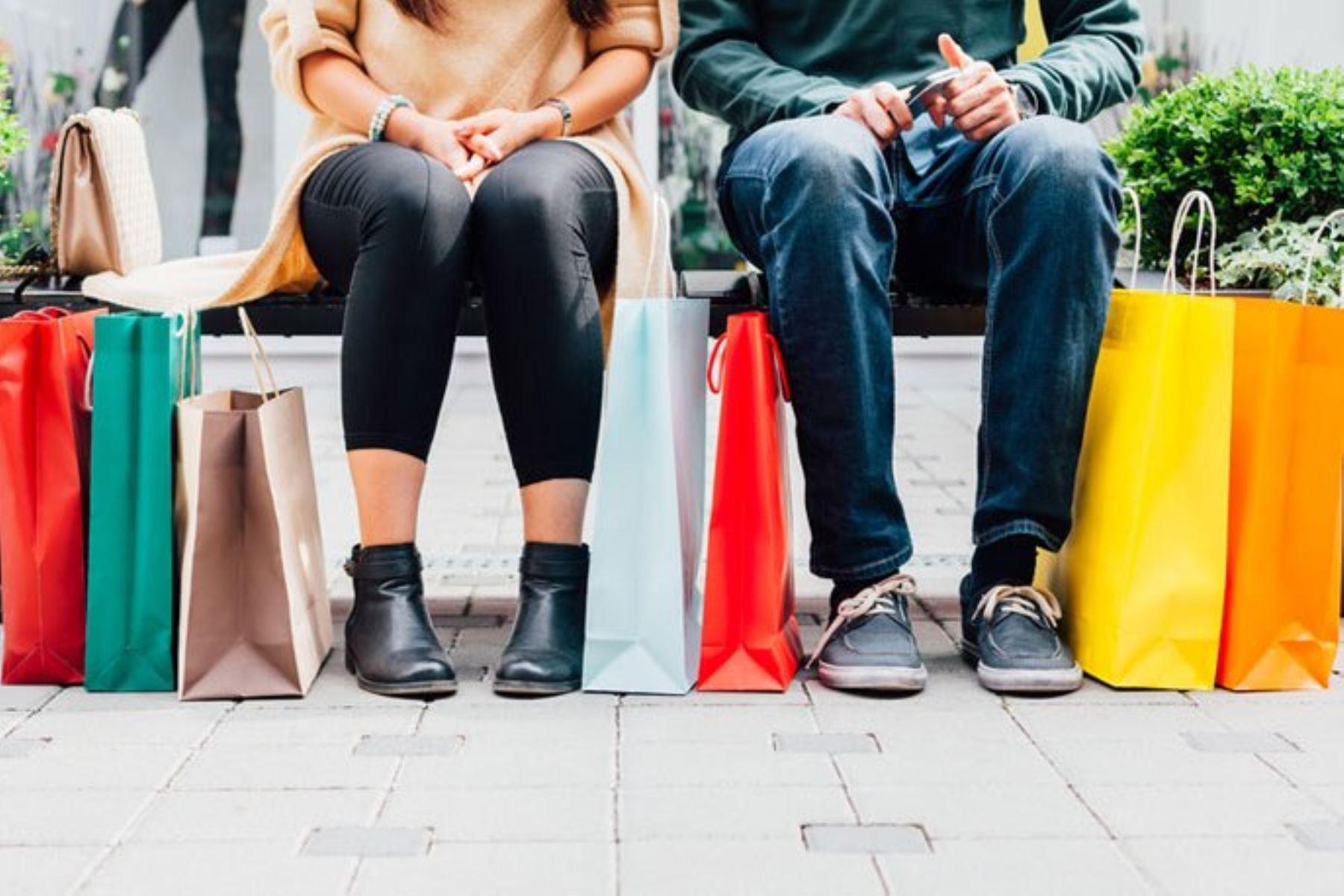 ¿Cómo evitar ser adicto a las compras en Navidad?. Foto: ANDINA/Difusión.