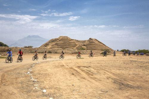 Turistas podrán conocer  Chan Chan en bicicleta