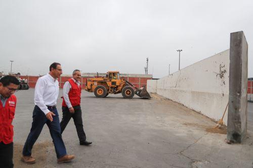 Presidente Vizcarra da inicio a las obras de Rehabilitación y Ampliación de la Avenida Santa Rosa en el Callao
