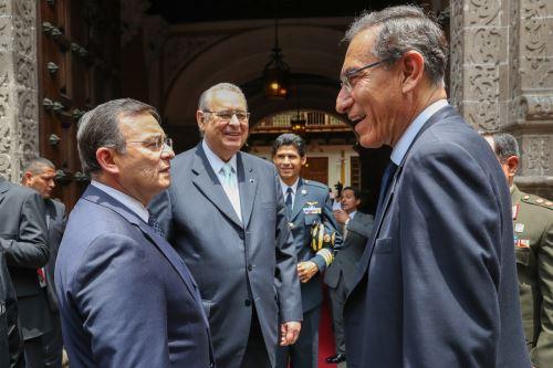 Presidente Vizcarra asiste a graduación de promoción de Academia Diplomática