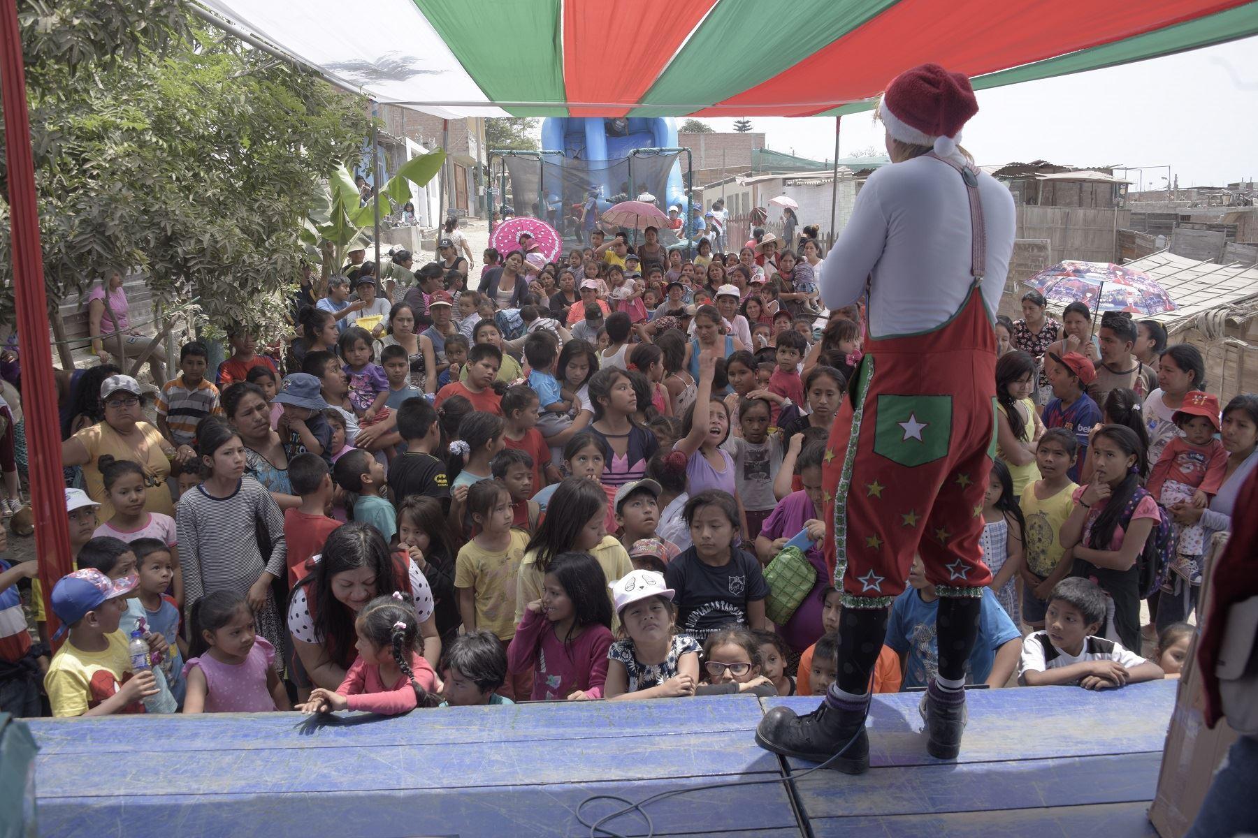 Navidad en niños Foto: Difusión