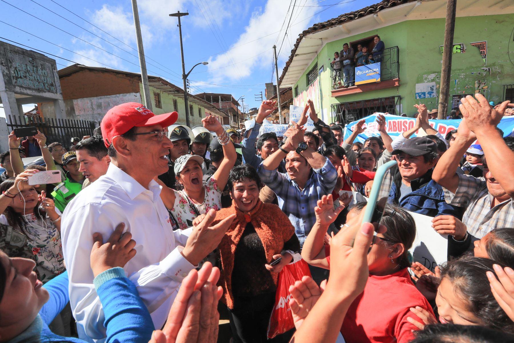 Presidente Martín Vizcarra inaugura hoy comisaría en Ayabaca.