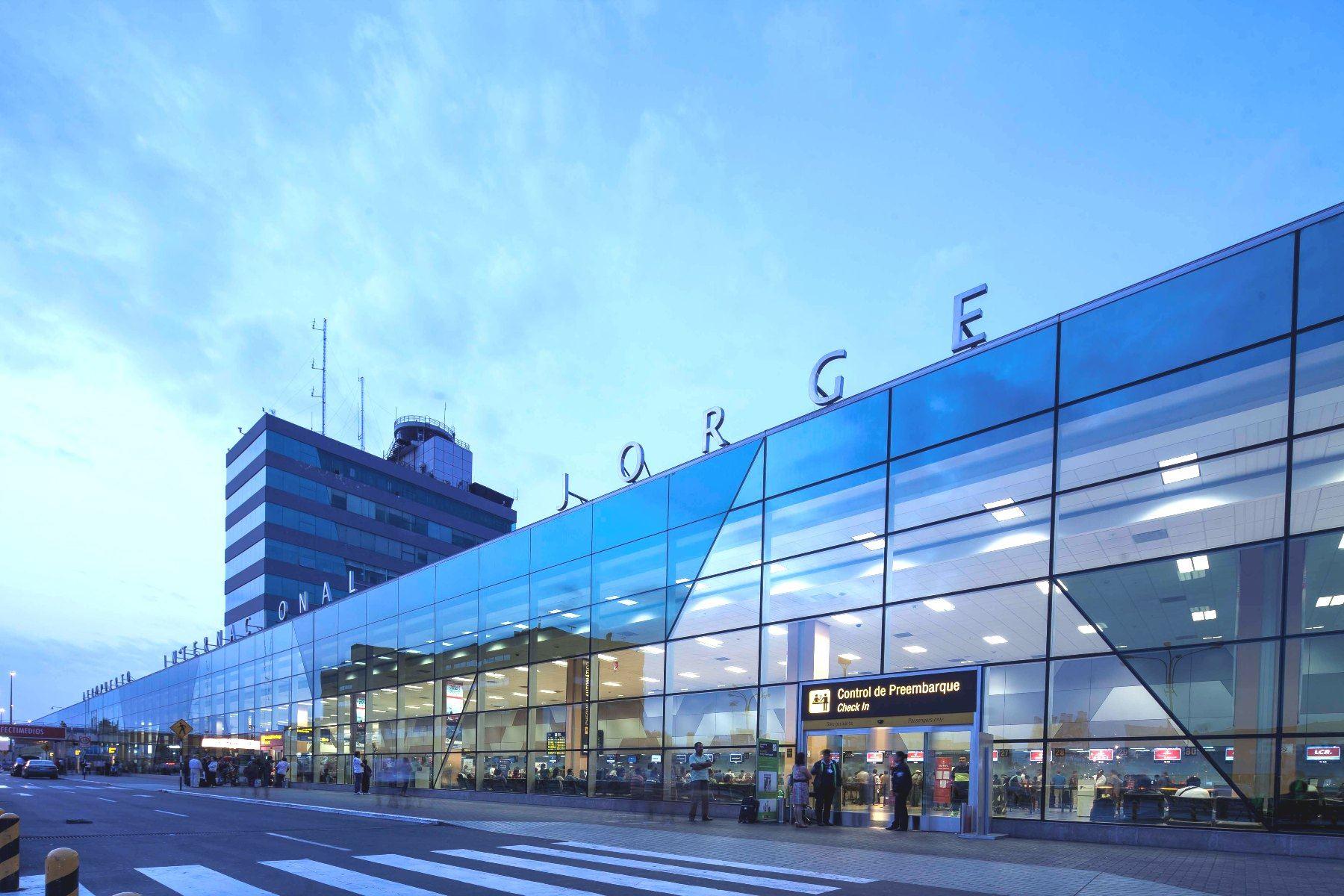 Aeropuerto internacional Jorge Chávez.Foto: ANDINA/Difusión.