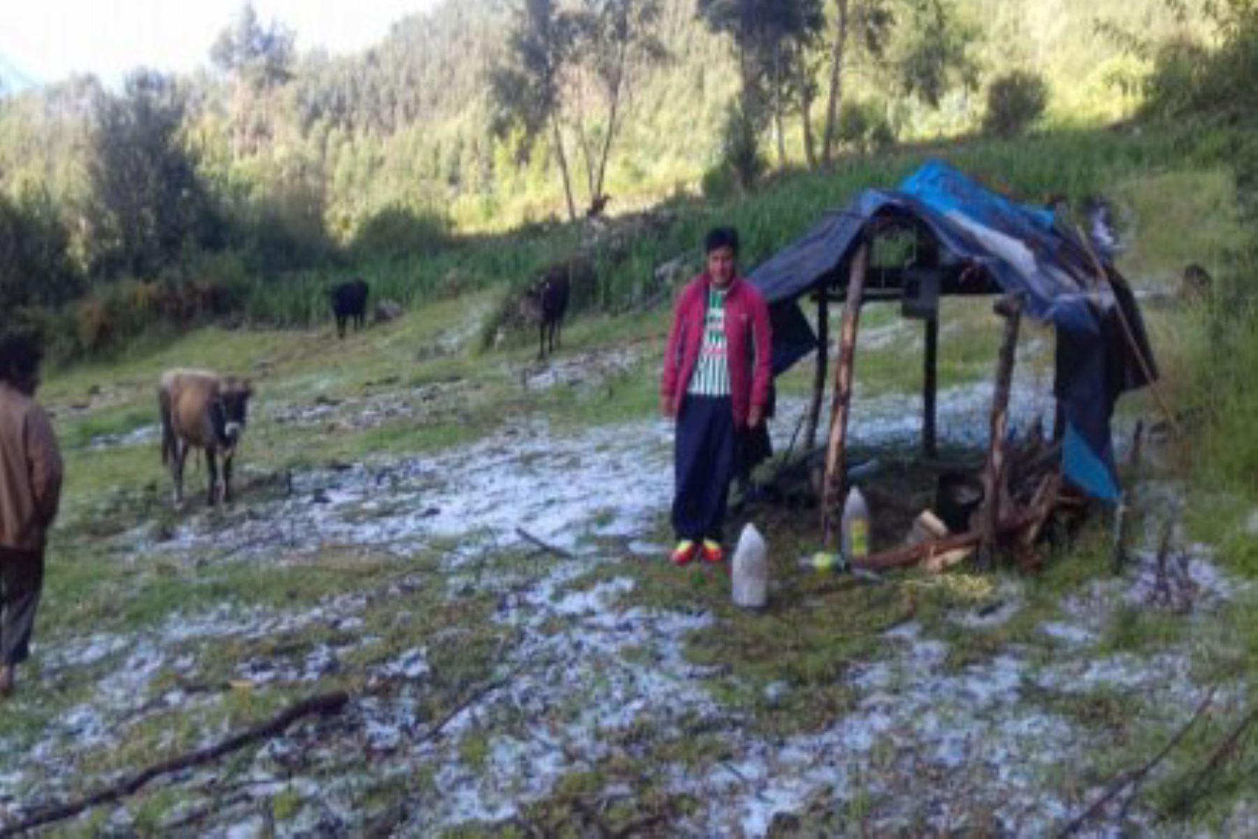 Intensas lluvias ocasionan inundación en el distrito de Andarapa, en la provincia de Andahuaylas, región Apurímac. Foto: ANDINA/Archivo
