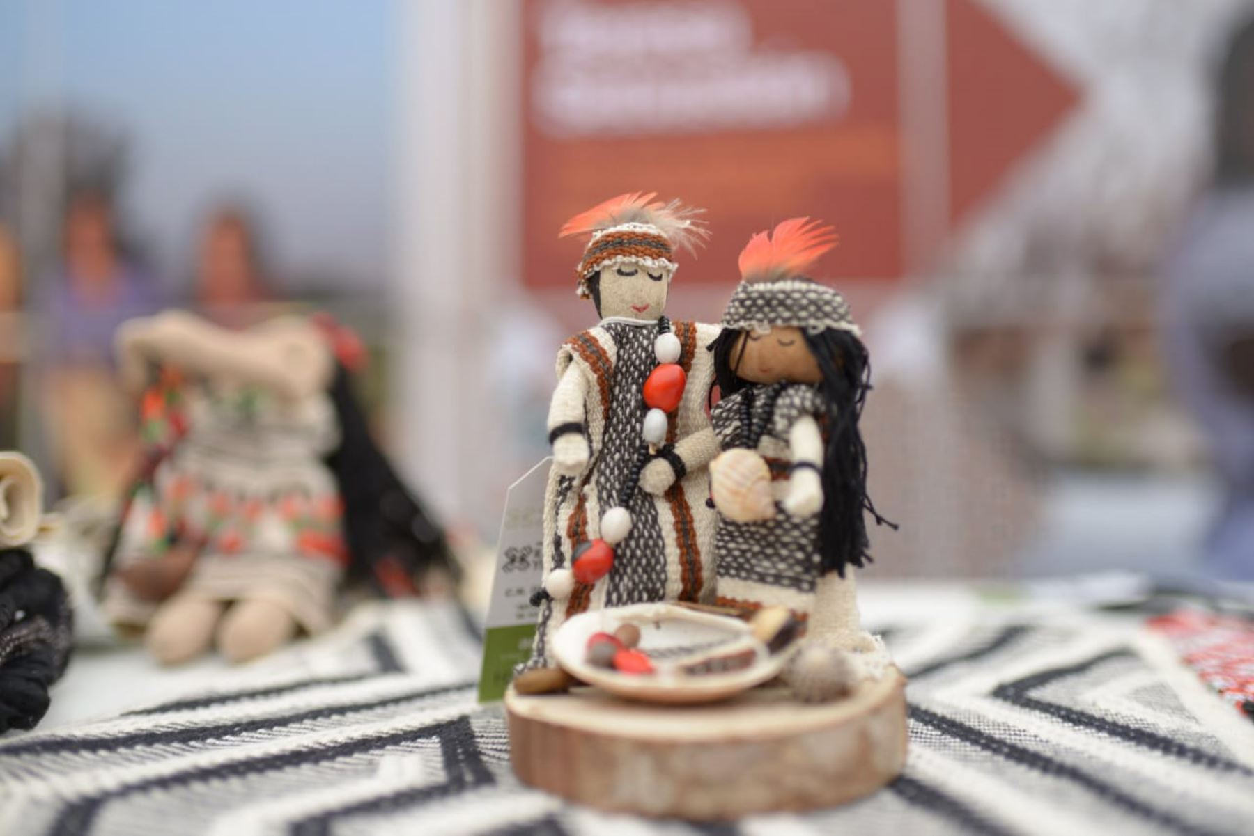 Conoce el arte navideño de las mujeres del Bajo Urubamba, en Cusco. ANDINA/Difusión