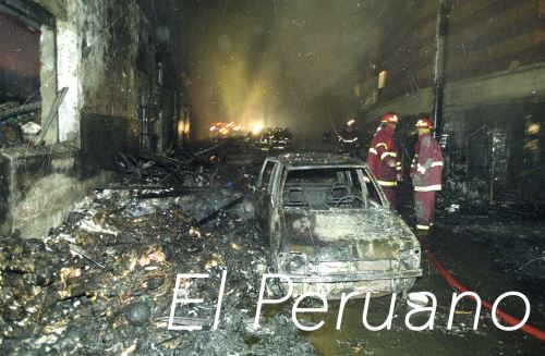 imagen de la tragedia en el año 2001. ANDINA/archivo El Peruano