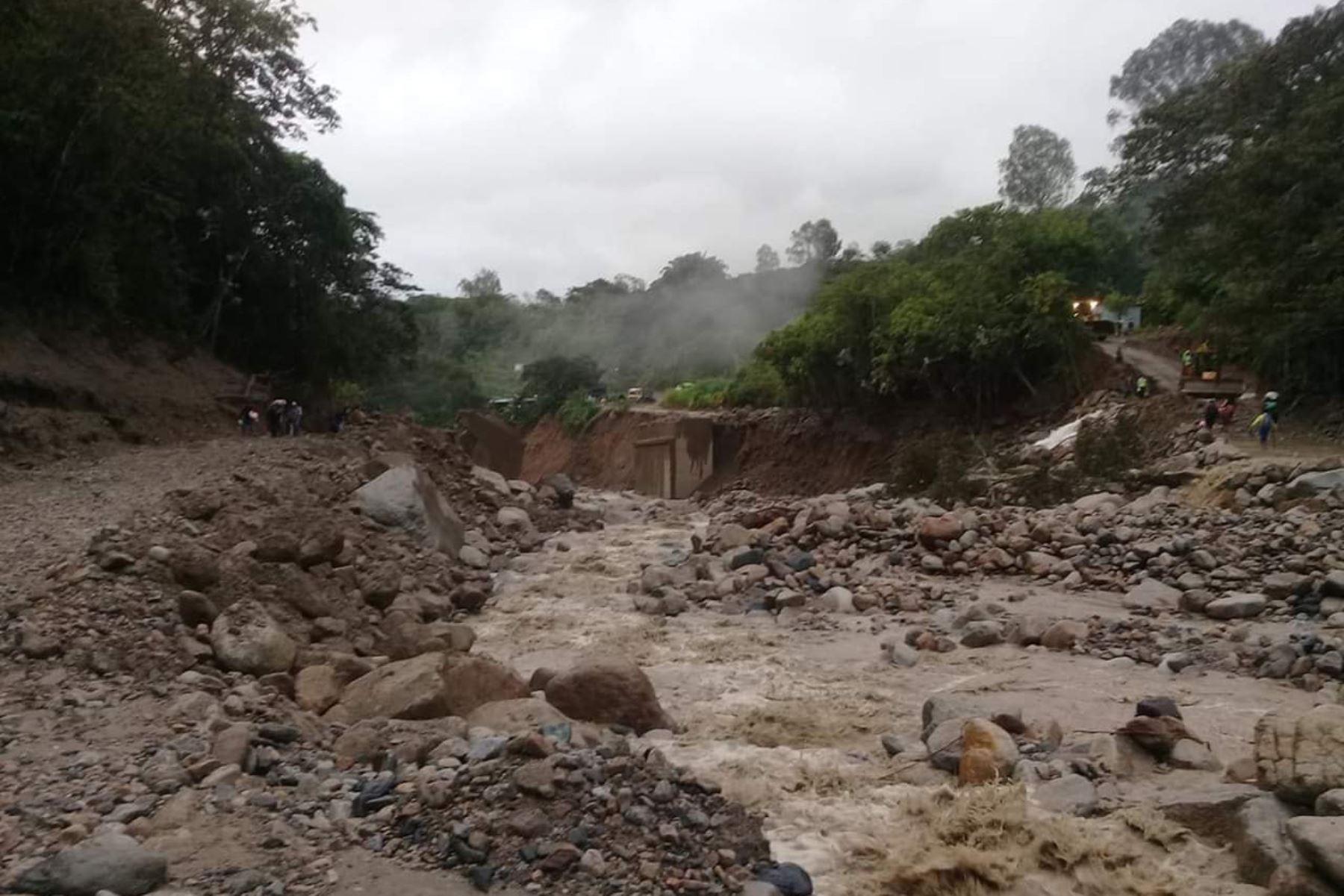 Confirman hallazgo de cadáver de segundo desaparecido por huaico en Huayopata, en Cusco. ANDINA