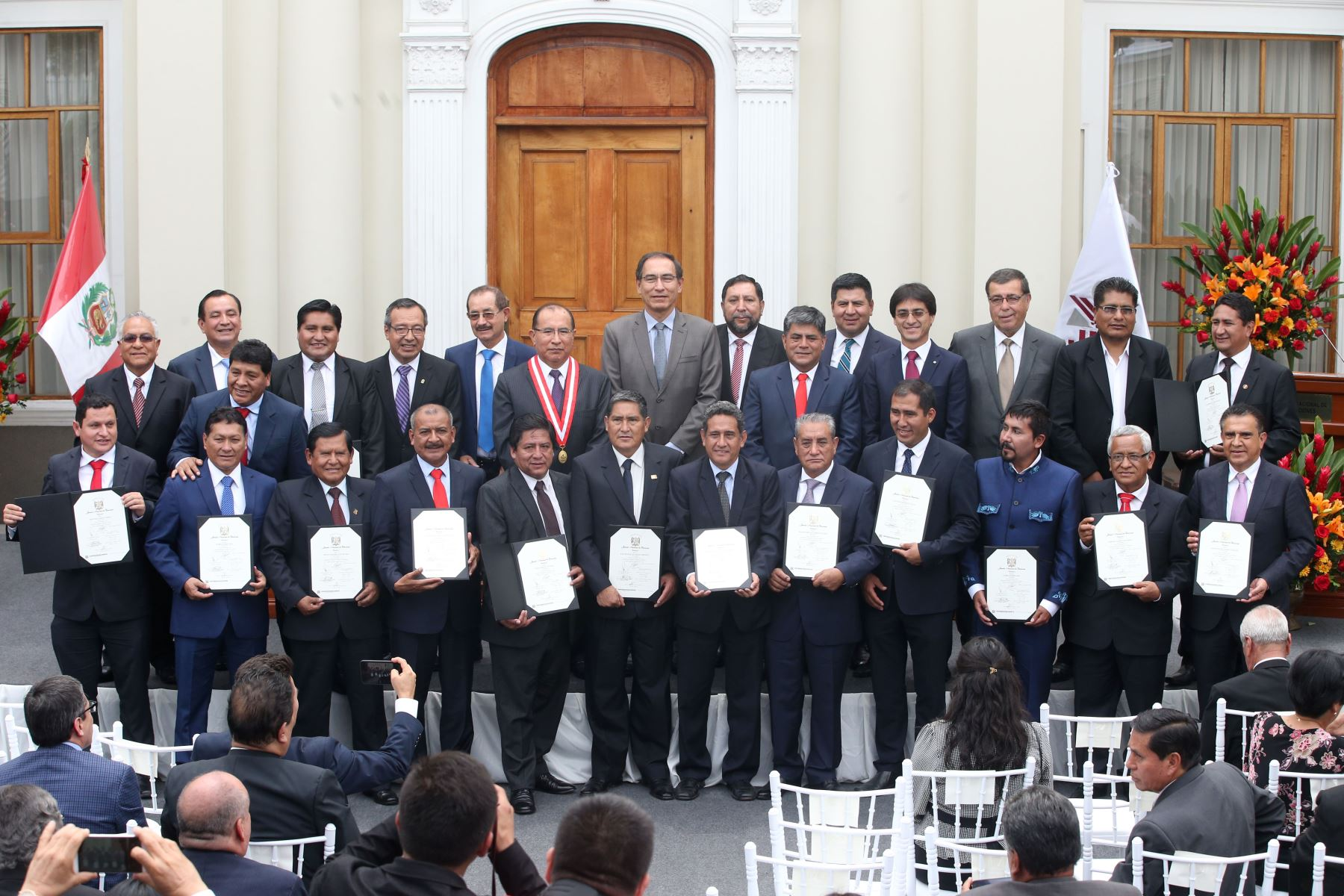 Gobernadores regionales elegirán a nuevo presidente de ANGR el 18 de enero. ANDINA/Vidal Tarqui