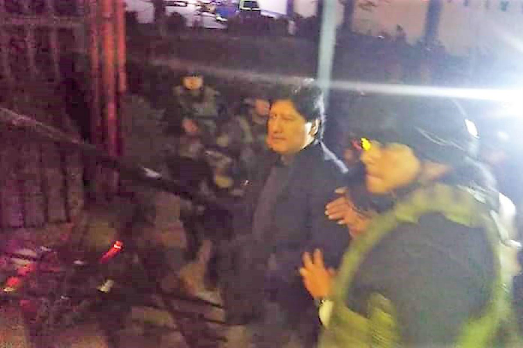 Internan en el penal de Chiclayo a Edwin Oviedo. ANDINA