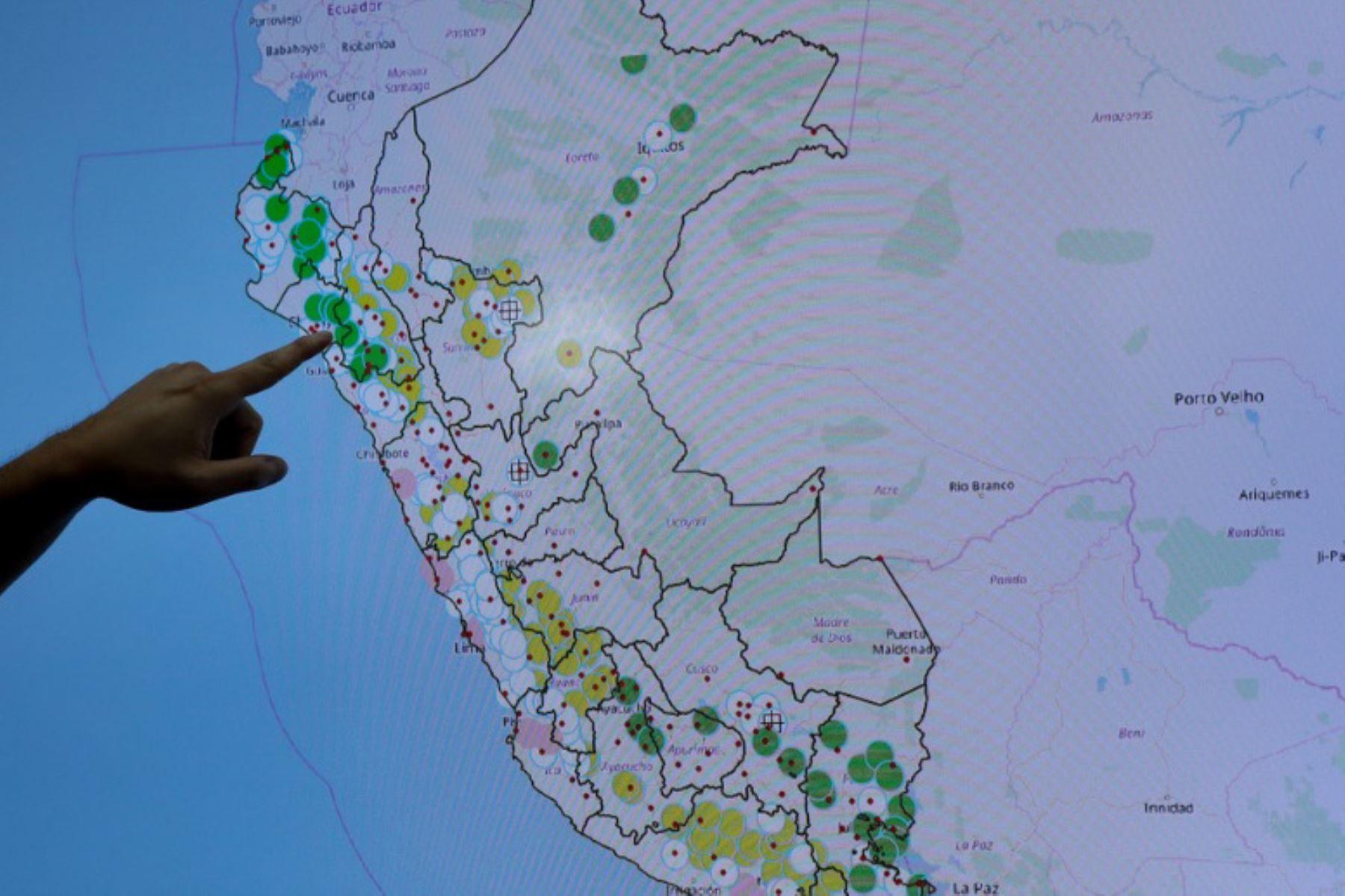 Buscan implementar sistema de monitoreo sobre impactos del cambio climático. ANDINA/Difusión