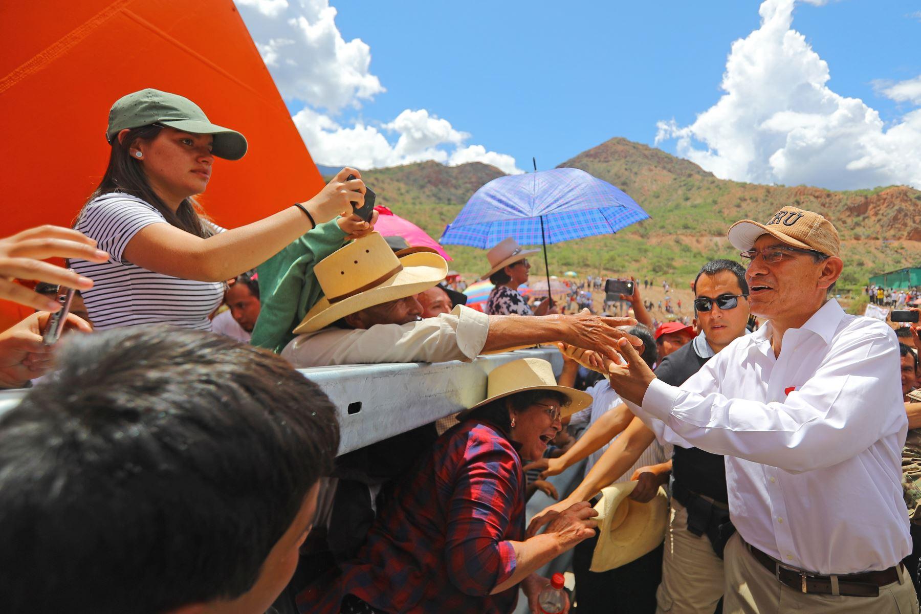 Presidente de la República, Martín Vizcarra. Foto: ANDINA/Prensa Presidencia