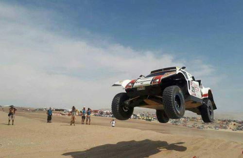Paracas y el Rally Dakar. Foto: ANDINA/Difusión