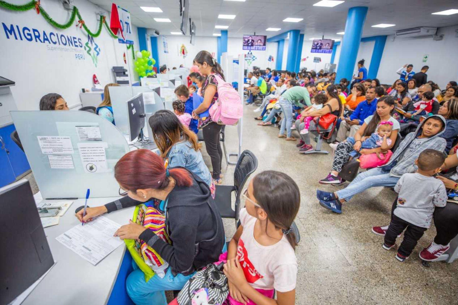 Más de 495 mil venezolanos realizaron gestiones para acogerse al Permiso Temporal de Permanencia (PTP).