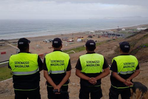 Serenos de Magdalena darán seguridad a asistentes a Feria Dakar. Foto: Andina/difusión