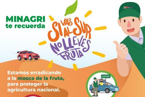 Rally Dakar 2019: Ministerio de Agricultura recomienda no llevar frutas a regiones del sur para evitar la mosca de la fruta.