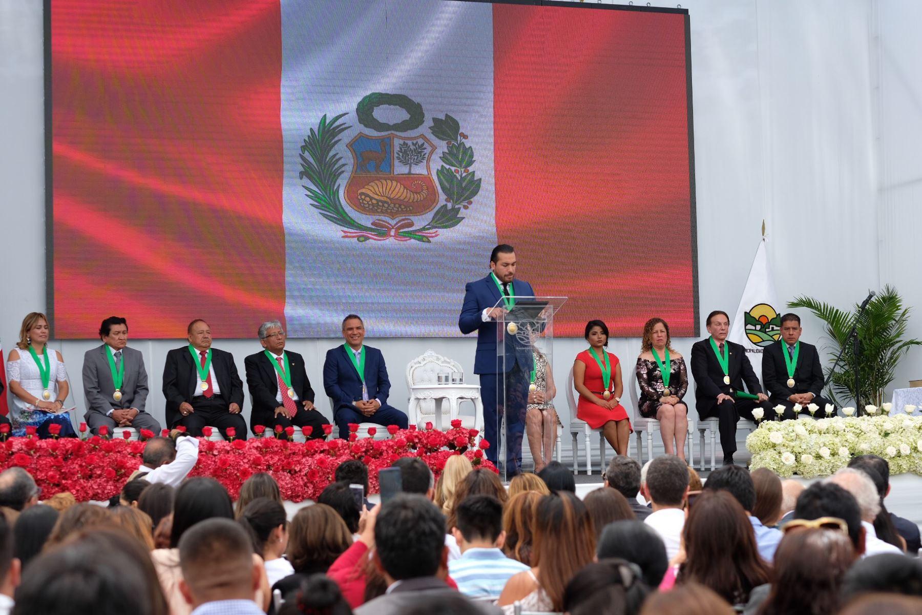 Alcalde de La Molina, Álvaro Paz de la Barra. Foto: Andina/Difusión