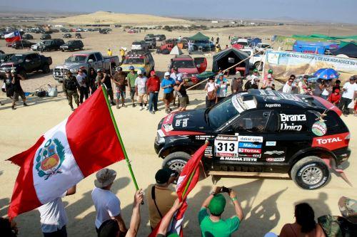 Rally Dakar: 4,000 policías garantizarán normal desarrollo de la competencia. Foto: ANDINA/archivo.