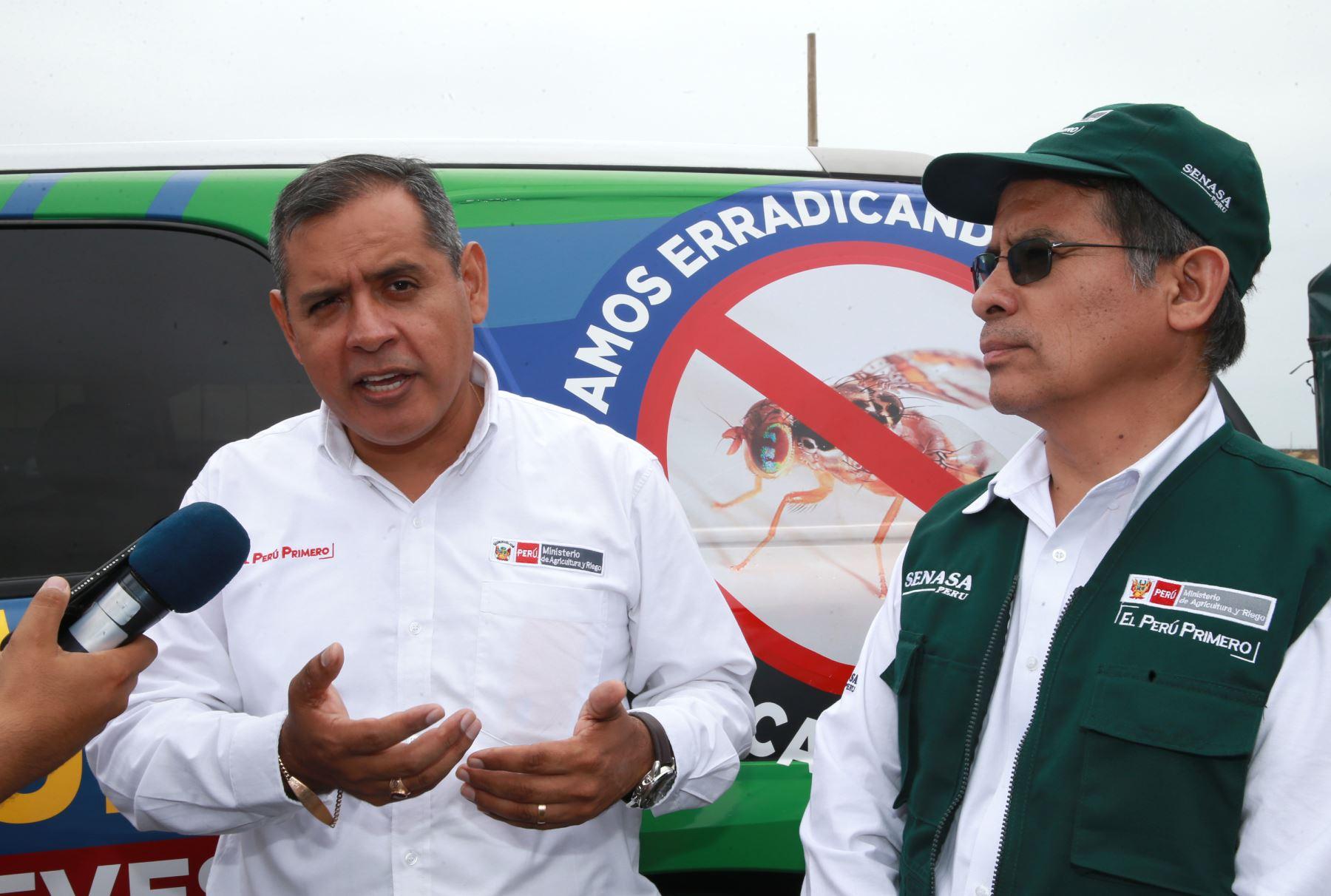 Ministro de Agricultura, Gustavo Mostajo. ANDINA/Norman Córdova