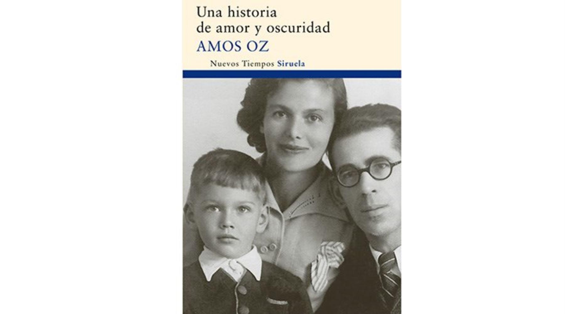 Portada de libro de Amos Oz