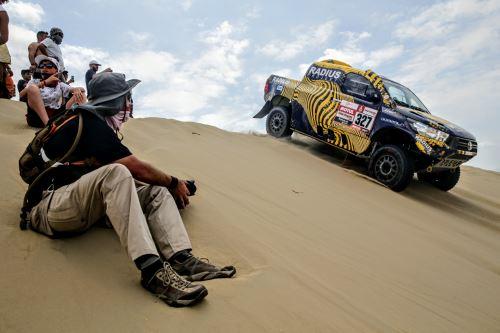 Rally Dakar 2019: sepa cómo protegerse de la radiación solar y disfrutar de la carrera. ANDINA/Luis Iparraguirre