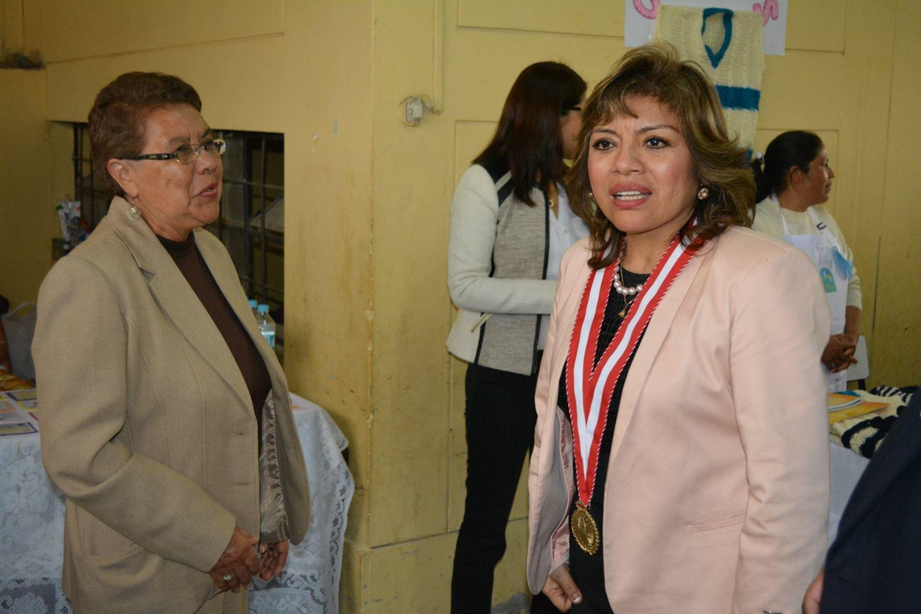 La magistrada suprema Zoraida Ávalos Rivera asumió interinamente el cargo de fiscal de la Nación.Foto:ANDINA/Ministerio Publico