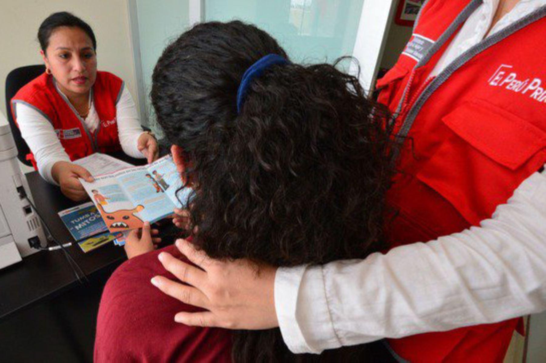 MIMP denuncia desaparición de hijas e hijo de víctima de feminicidio en Ayacucho