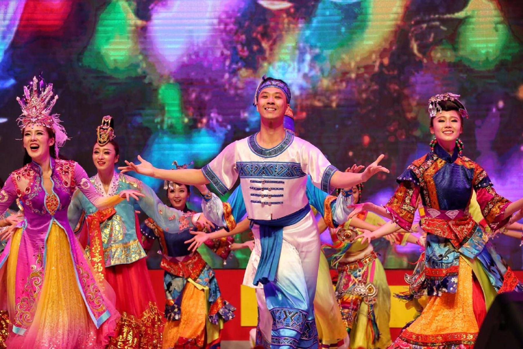 Teatro Dramático Nacional de Opera Danza de China Foto: Difusión