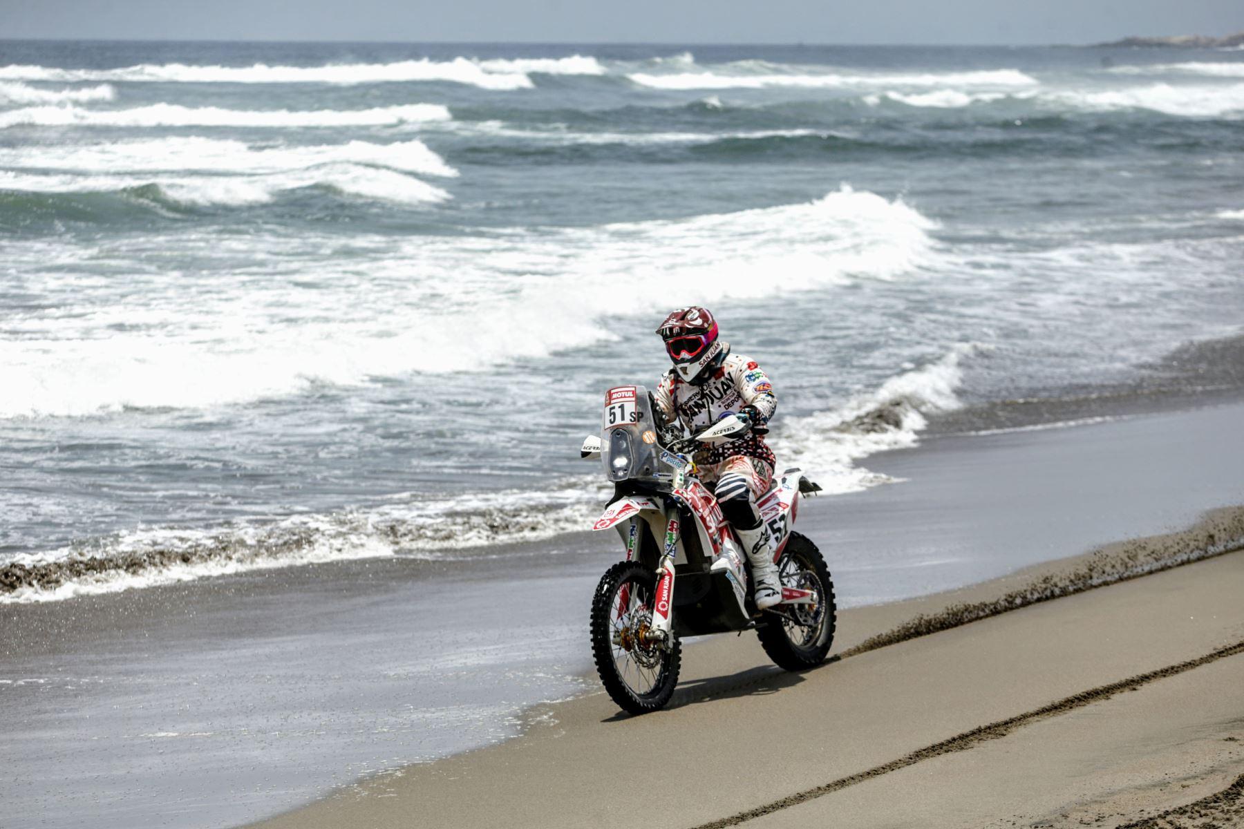 Rally Dakar 2019 tramo San Juan de Marcona - Arequipa. Foto: ANDINA/Luis Iparraguirre