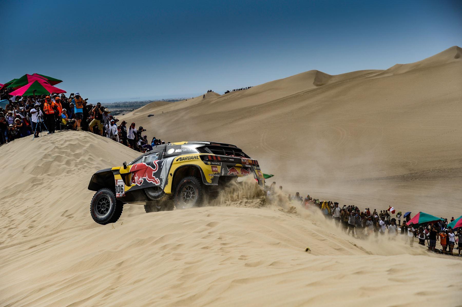 Habilitan zonas para espectadores del Rally Dakar 2019 en Arequipa, Moquegua y Tacna. ANDINA/Difusión