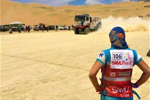 El Servicio de Atención Móvil de Urgencias (SAMU) del Ministerio de Salud (Minsa) registró 30 atenciones médicas durante la primera y segunda etapa del Rally Dakar 2019, que se desarrolla íntegramente en Perú, del 6 al 17 de enero.