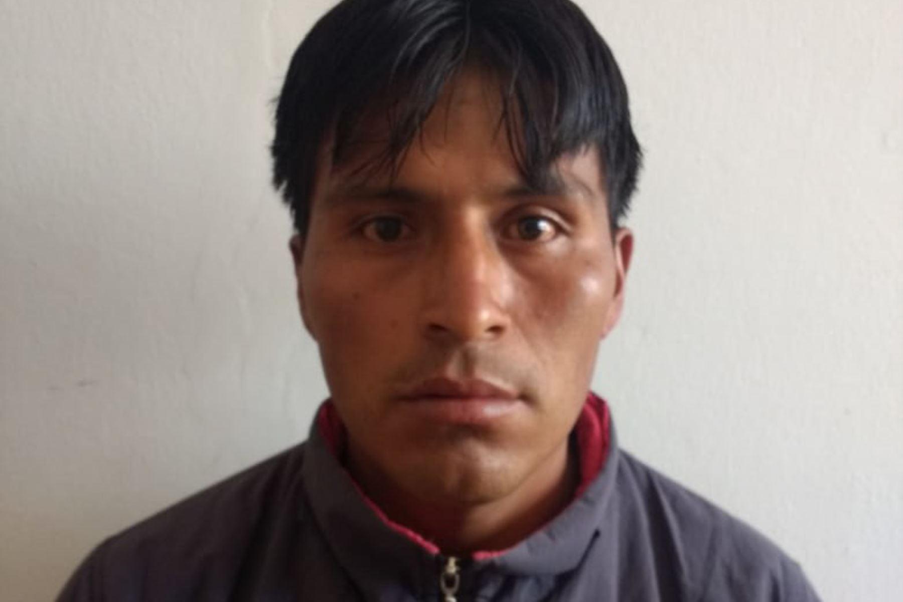 Policía captura a presunto feminicida Yoel Parhuana en Ayacucho.Foto:  ANDINA/Difusión