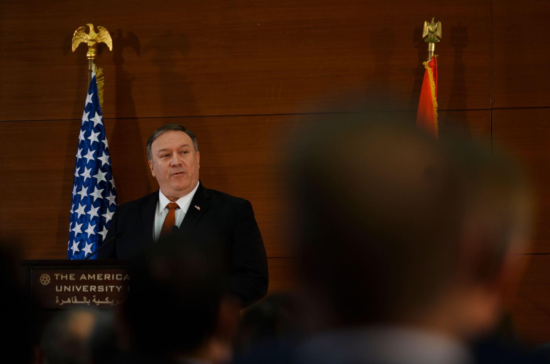 El secretario de Estado de EE. UU., Mike Pompeo  Foto: AFP.