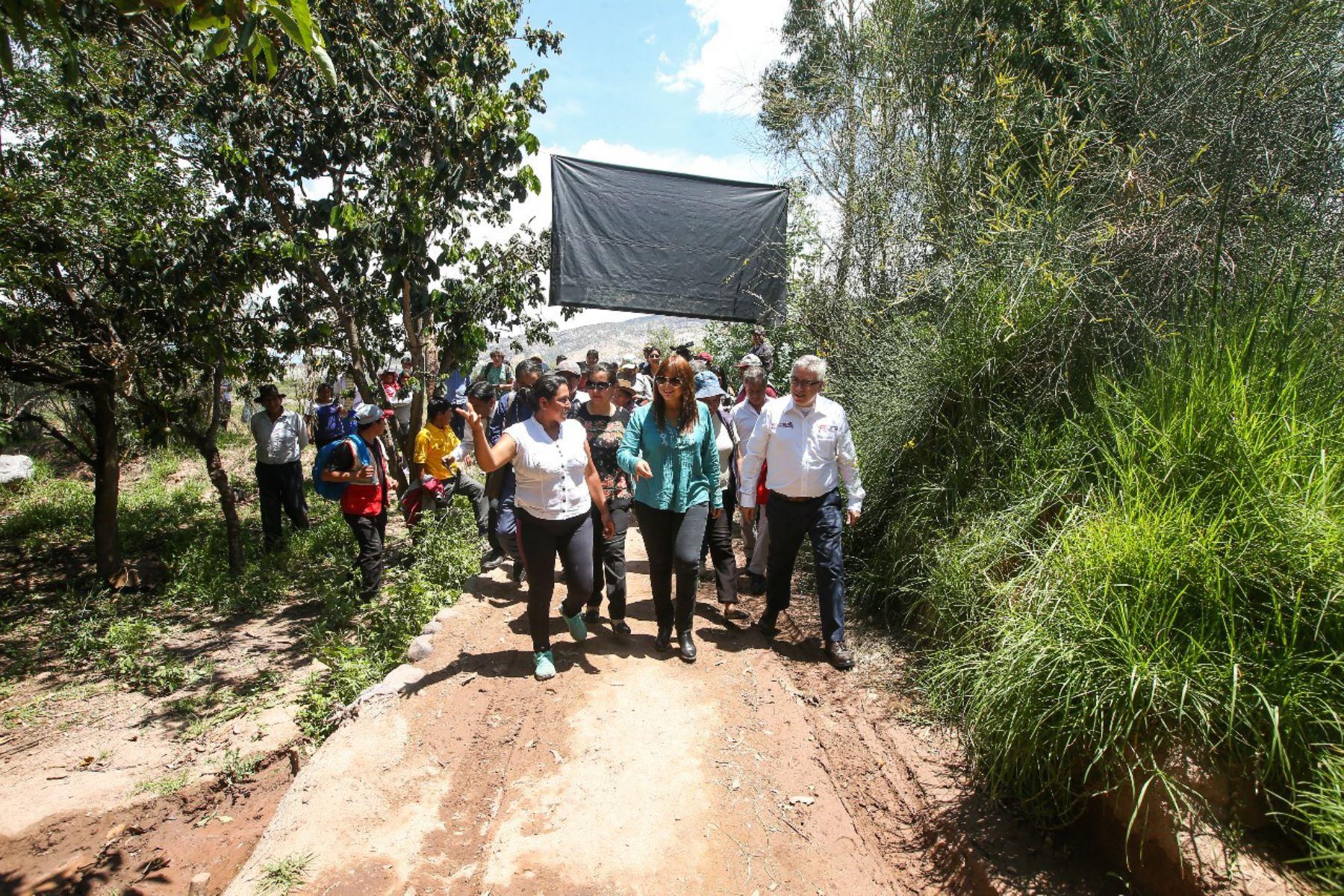 La ministra de Desarrollo e Inclusión Social, Liliana La Rosa, cumplió visita de trabajo en la región Ayacucho.