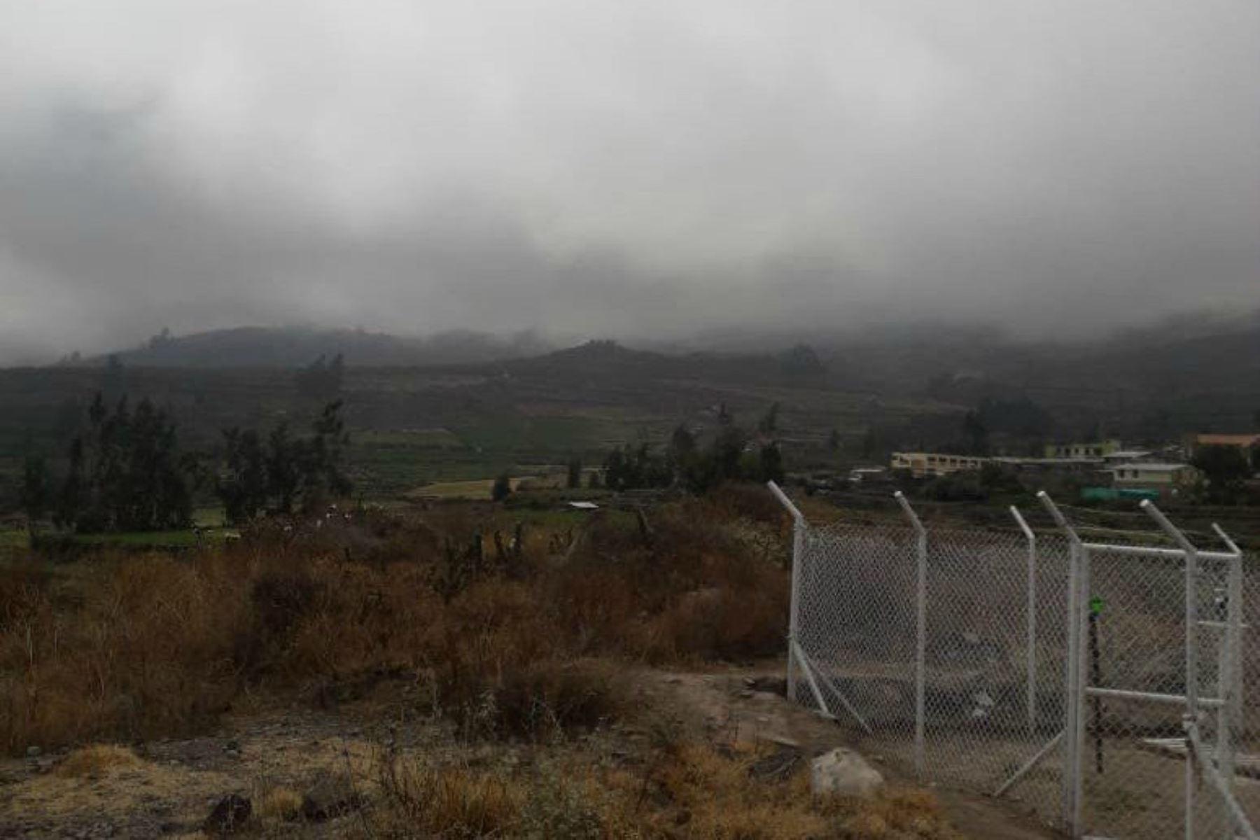 El Senamhi pronosticó que desde esta tarde se registrarán lluvias de moderada intensidad en la sierra sur.