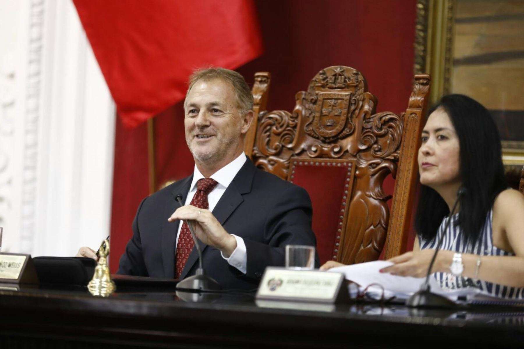 Burgomaestre anunció que liderará todas las reuniones de las Sesiones de Concejo.