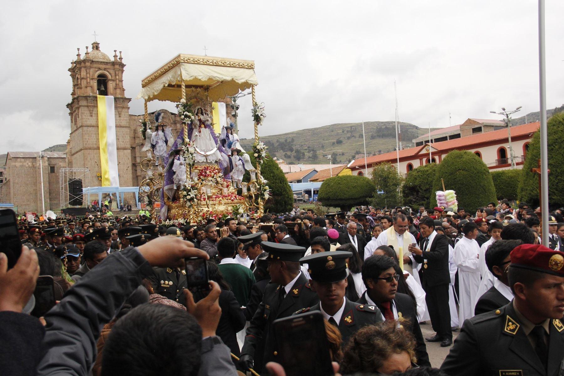 Todo listo en Puno para celebrar Festividad de la Virgen de la Candelaria. ANDINA
