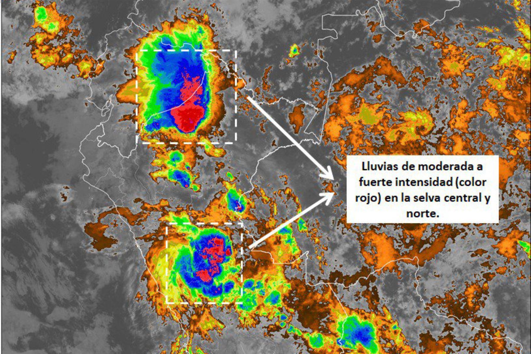 Puerto Inca, en Huánuco, soporta ahora una lluvia extrema.