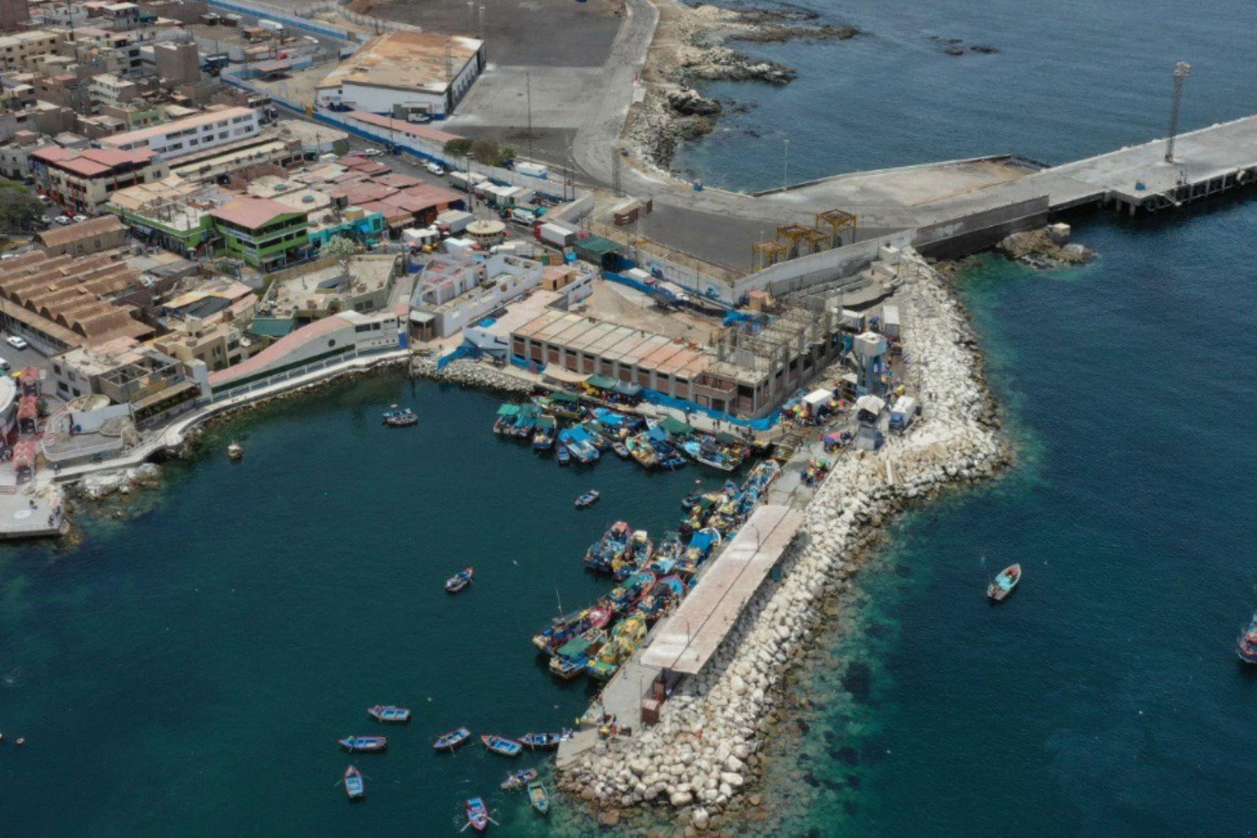 Ilo: desembarcadero en construcción beneficiará a 10,000 pescadores artesanales