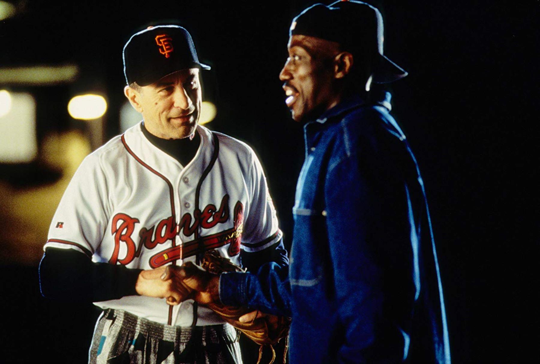 Robert De Niro junto a Wesley Snipes en la película El Fan. Foto: INTERNET/Medios