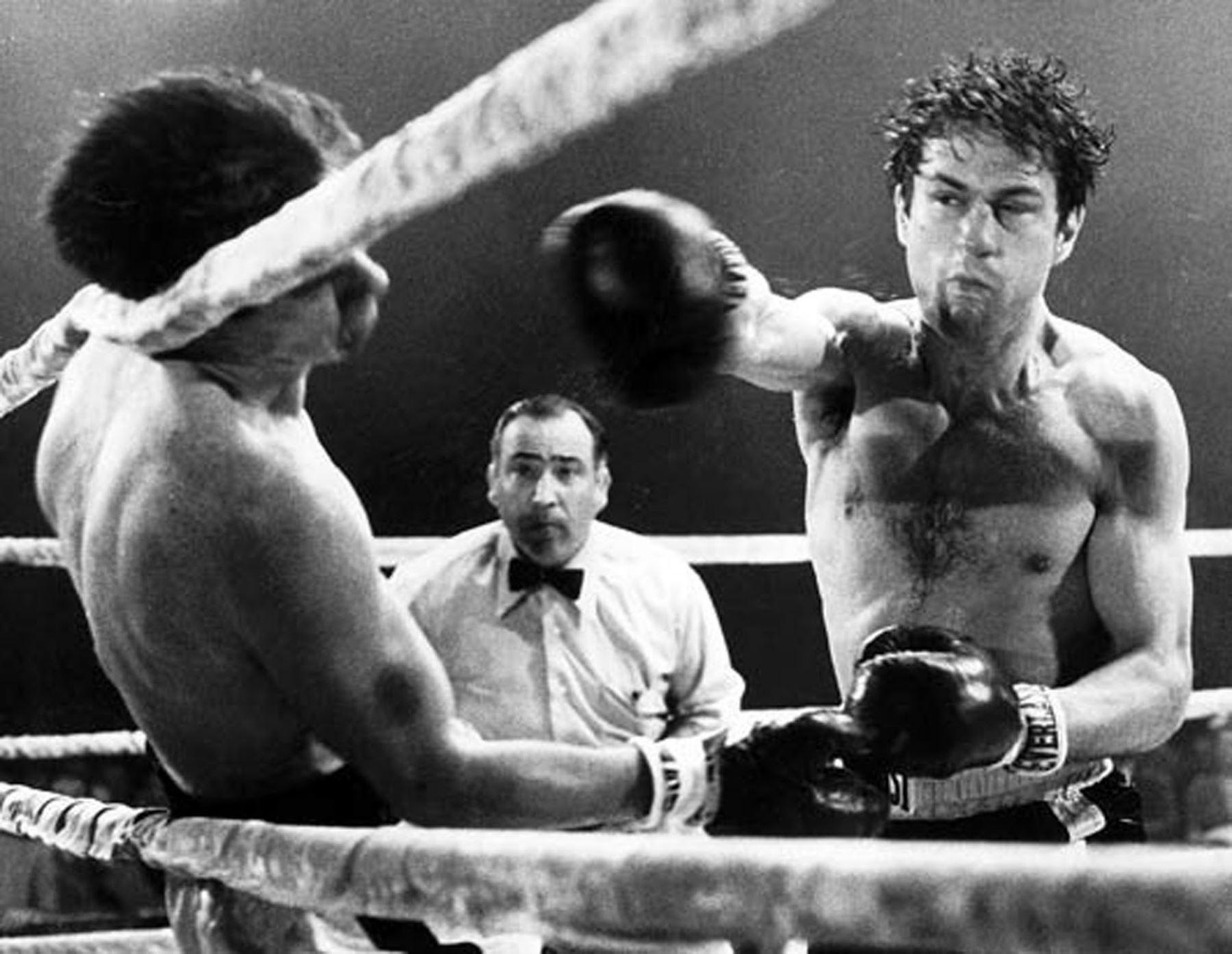 Robert De Niro interpreta a un boxeador en la película Toro Salvaje. Foto: INTERNET/Medios