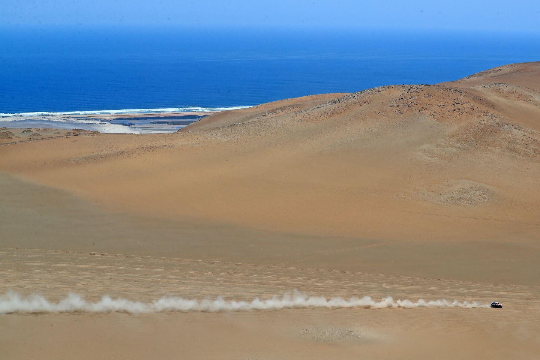 Sobre vuelo ruta Dakar 2019. Foto: ANDINA/Prensa Presidencia