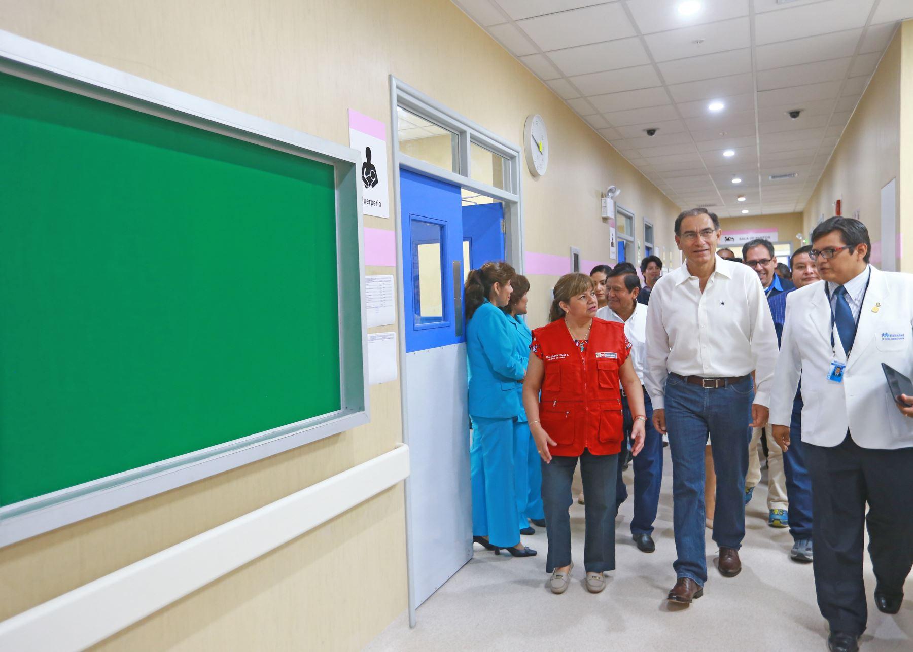 Presidente Martín Vizcarra anuncia que Hospital de Moquegua operará en junio próximo.