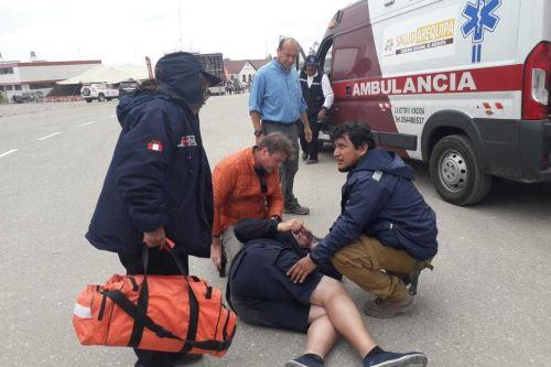 Los brigadistas de emergencias y desastres del Ministerio de Salud (Minsa) brindaron hasta el momento 273 atenciones en los Puestos Médicos de Avanzada durante las cinco primeras etapas del rally Dakar 2019.