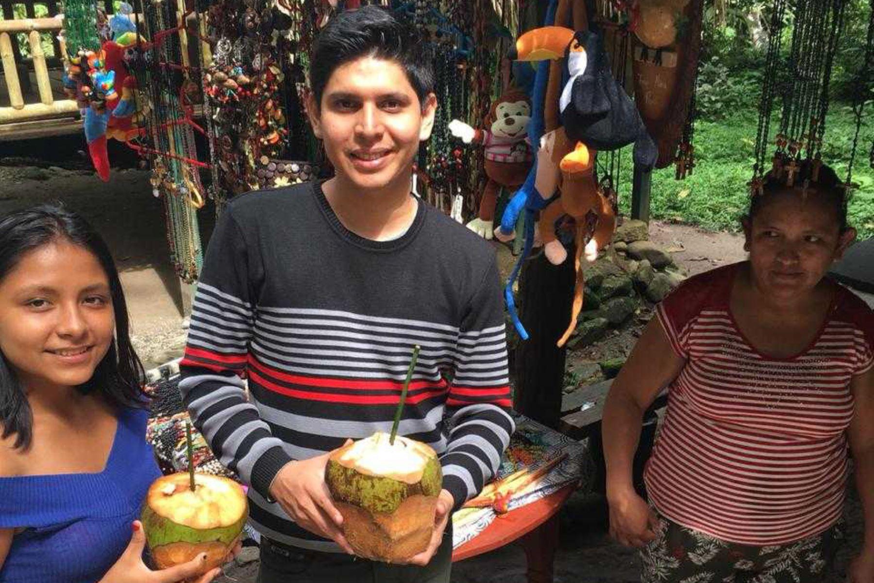Parque Nacional Tingo María: 107,000 visitantes cambian cañitas de plástico por hechas con bambú
