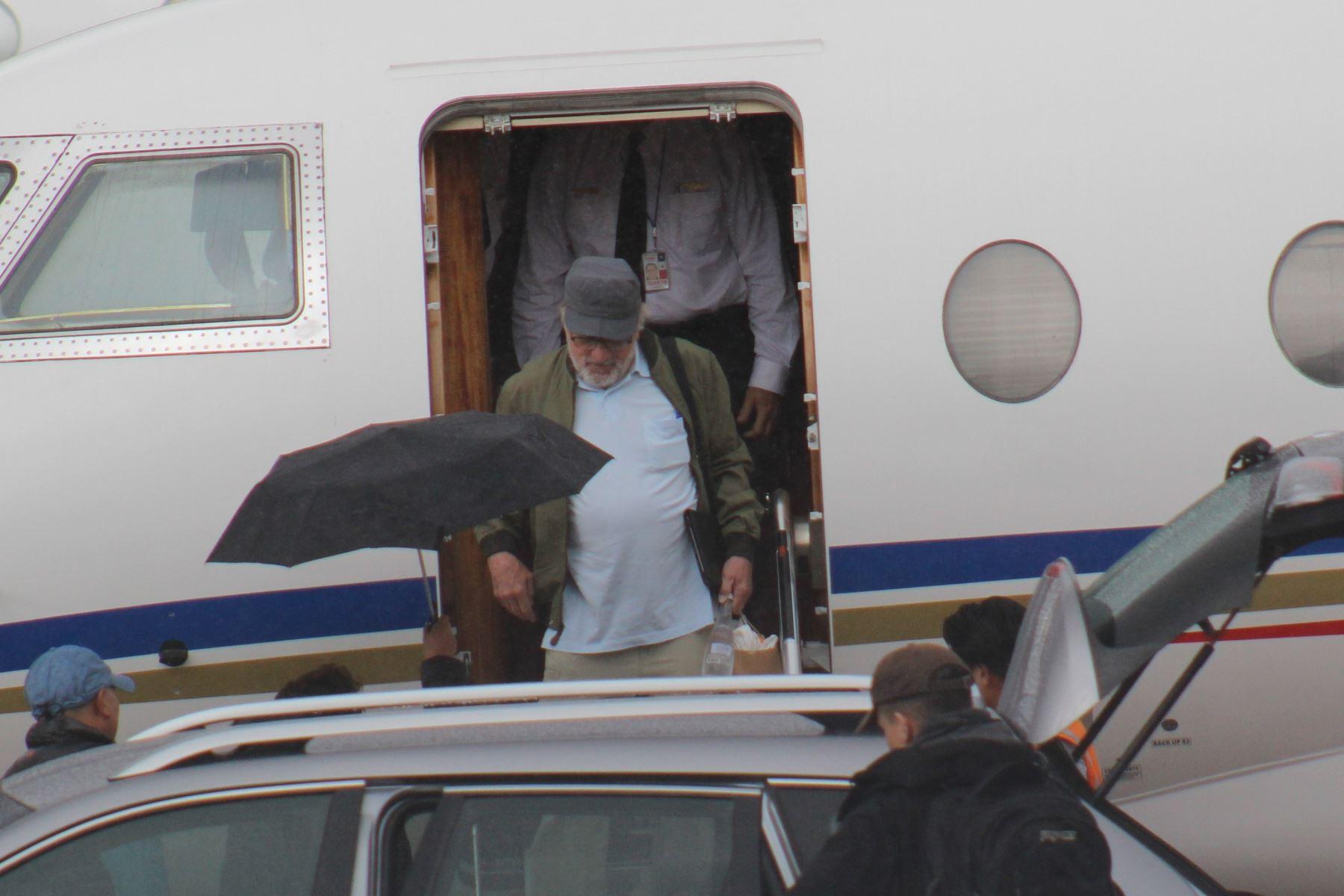 Robert De Niro llegó esta tarde a Cusco en visita turística Foto: Percy Hurtado.
