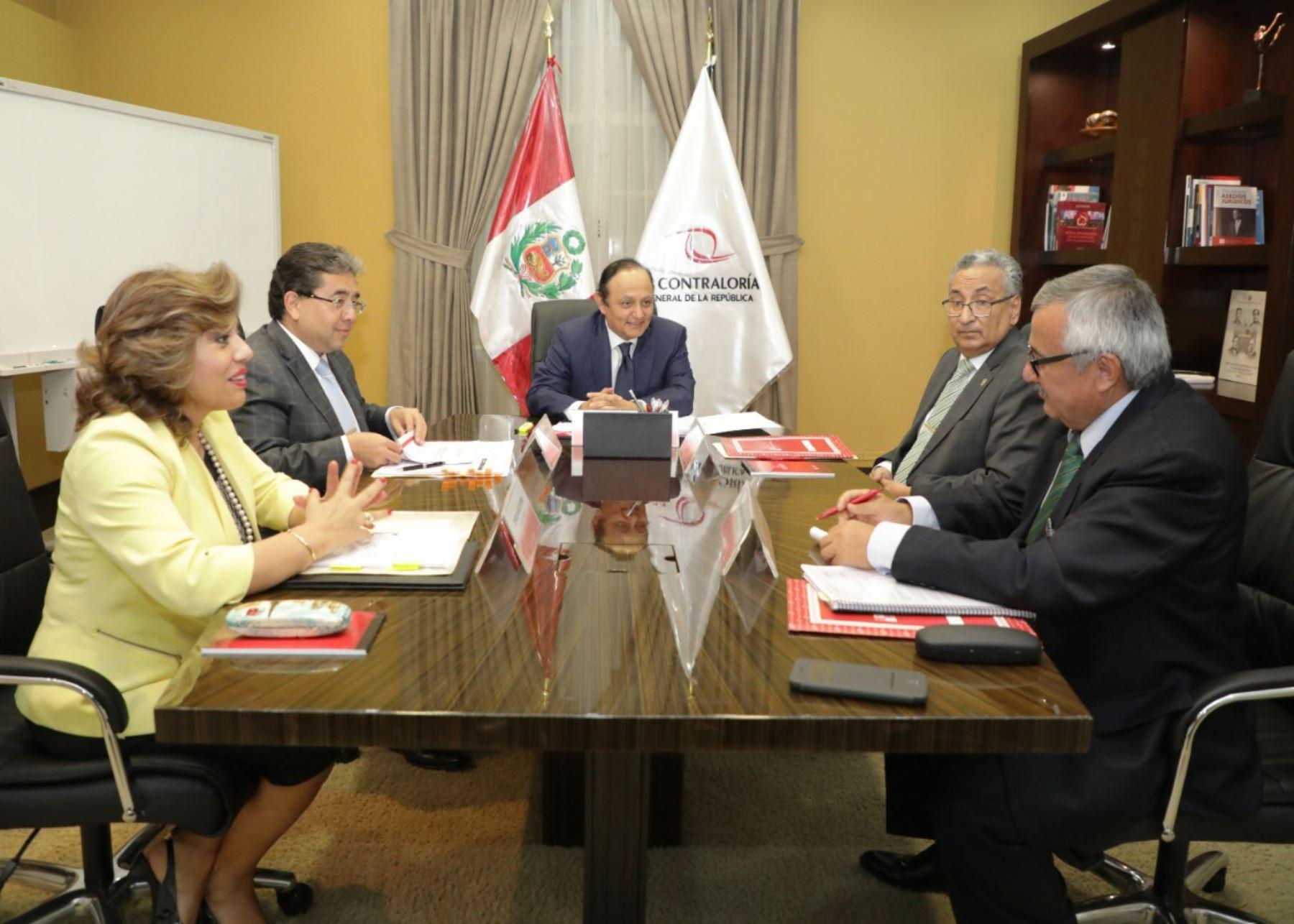 Comisión Especial encargada de elegir próximamente a los integrantes de la Junta Nacional de Justicia (JNJ).