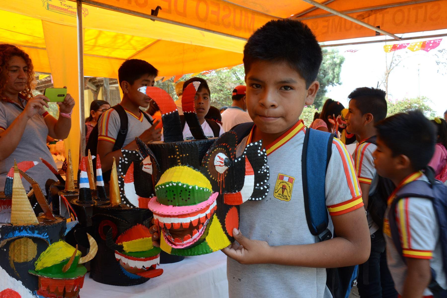 Museos de Lambayeque ofrecen talleres gratuitos a niños y jóvenes. ANDINA