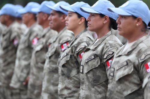 Cascos Azules partirán a misión de paz en África