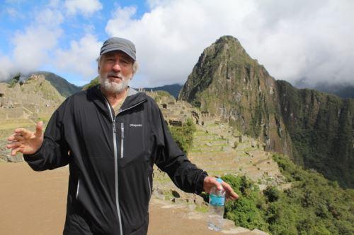 Robert De Niro visita Huayna Picchu y ciudadela Machu Picchu