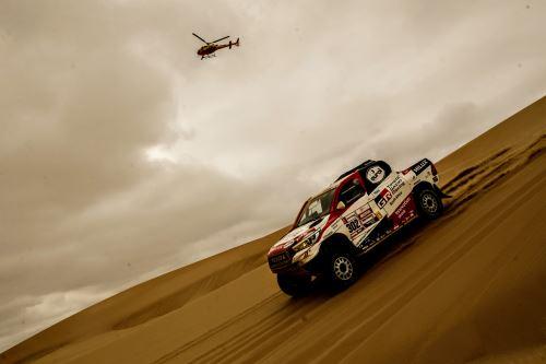 Dakar 2019: octava etapa: San Juan de Marcona y Pisco
